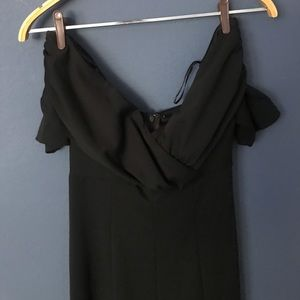 Sexy, off the shoulder jumpsuit — only worn once